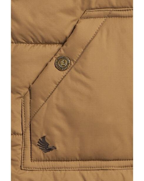 Cody James Boys' Arctic Puffer Vest, Brown, hi-res