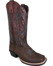 Smoky Mountain Women's Hi-lo Fusion #2 Western Boots - Square Toe , , hi-res