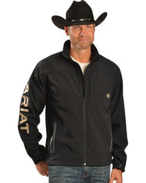 Ariat Men's Team Logo Softshell Jacket, , hi-res