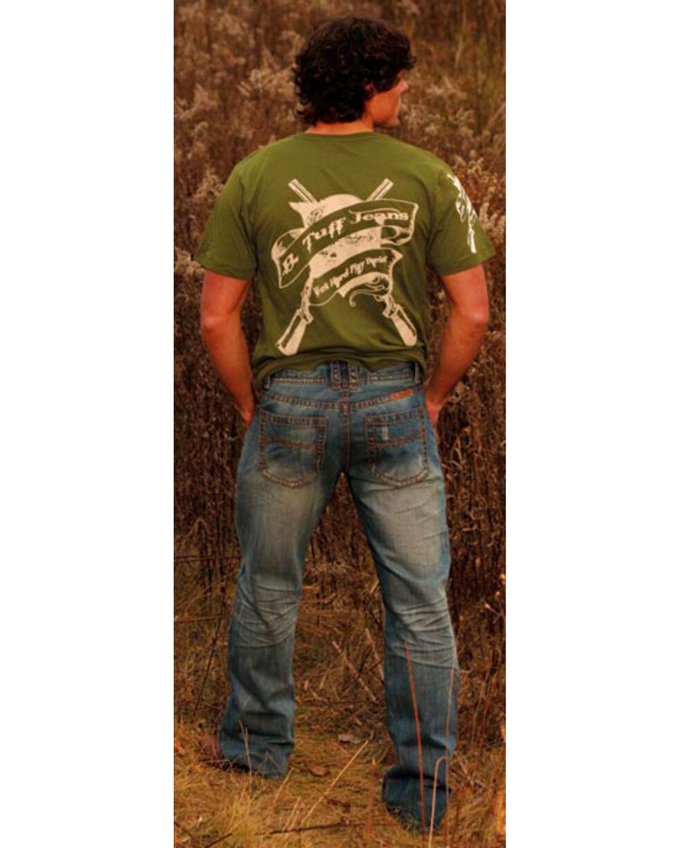 B. Tuff Men's Dare Me Boot Cut Jeans, Indigo, hi-res