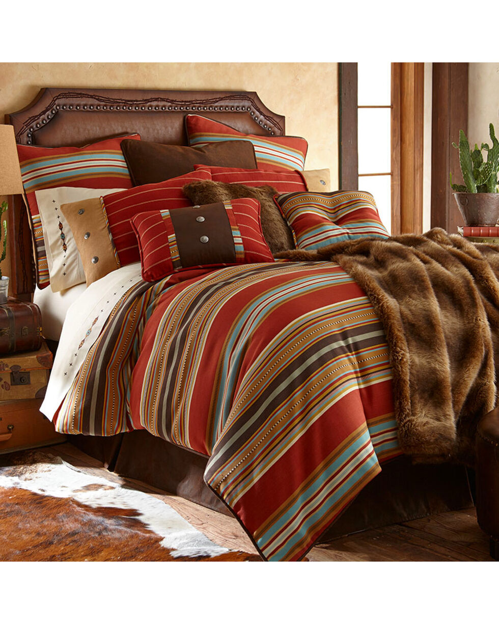 HiEnd Accents Calhoun Collection Comforter Set - Super King, Multi, hi-res
