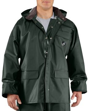 Carhartt Surrey Rain Coat, Green, hi-res