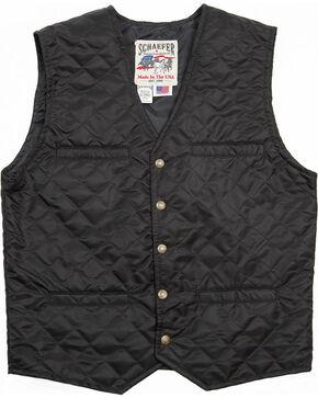 Schaefer Outfitter Men's Black Canyon Vest -  Big 2X , Black, hi-res