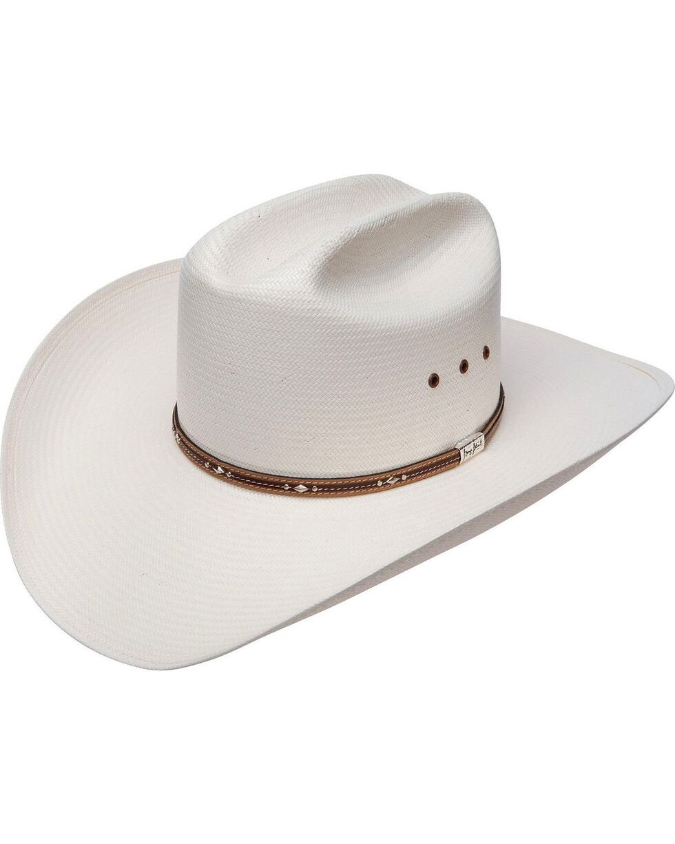 Resistol 10X George Strait Kingman Straw Hat, Natural, hi-res