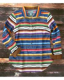 Tasha Polizzi Women's Serape Tuxedo Shirt , , hi-res