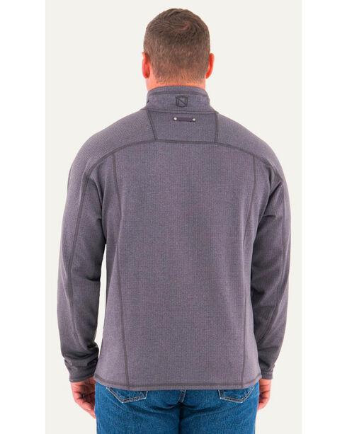 Noble Outfitters Men's Quarter Zip Performance Jacket , Charcoal, hi-res