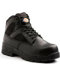 "Dickies Men's Black 6"" Buffer Work Boots - Steel Toe , , hi-res"