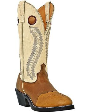 Laredo Men's Tunica Buckaroo Boots, Tan, hi-res