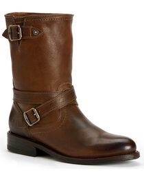 Frye Women's Jayden Cross Engineer Boots - Round Toe, , hi-res