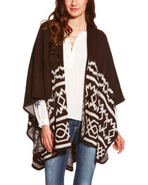 Ariat Women's Brown Mary Cape, , hi-res