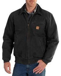 Carhartt Men's Black Bankston Jacket - Big & Tall, , hi-res