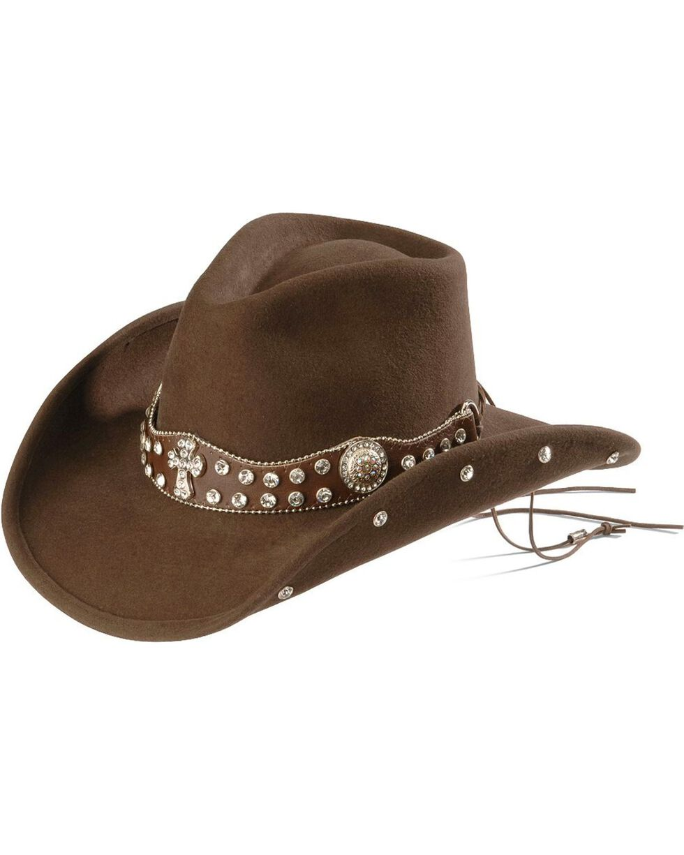 Bullhide Women's Moments 4 Life Cowgirl Hat, Chocolate, hi-res