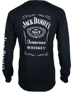 Jack Daniel's Old No.7 Long Sleeve Shirt, Black, hi-res