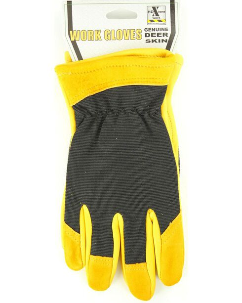 HD Xtreme Deerskin & Fabric Gloves, Multi, hi-res