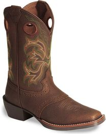 Justin Children's Junior Stampede Cowboy Boots, , hi-res