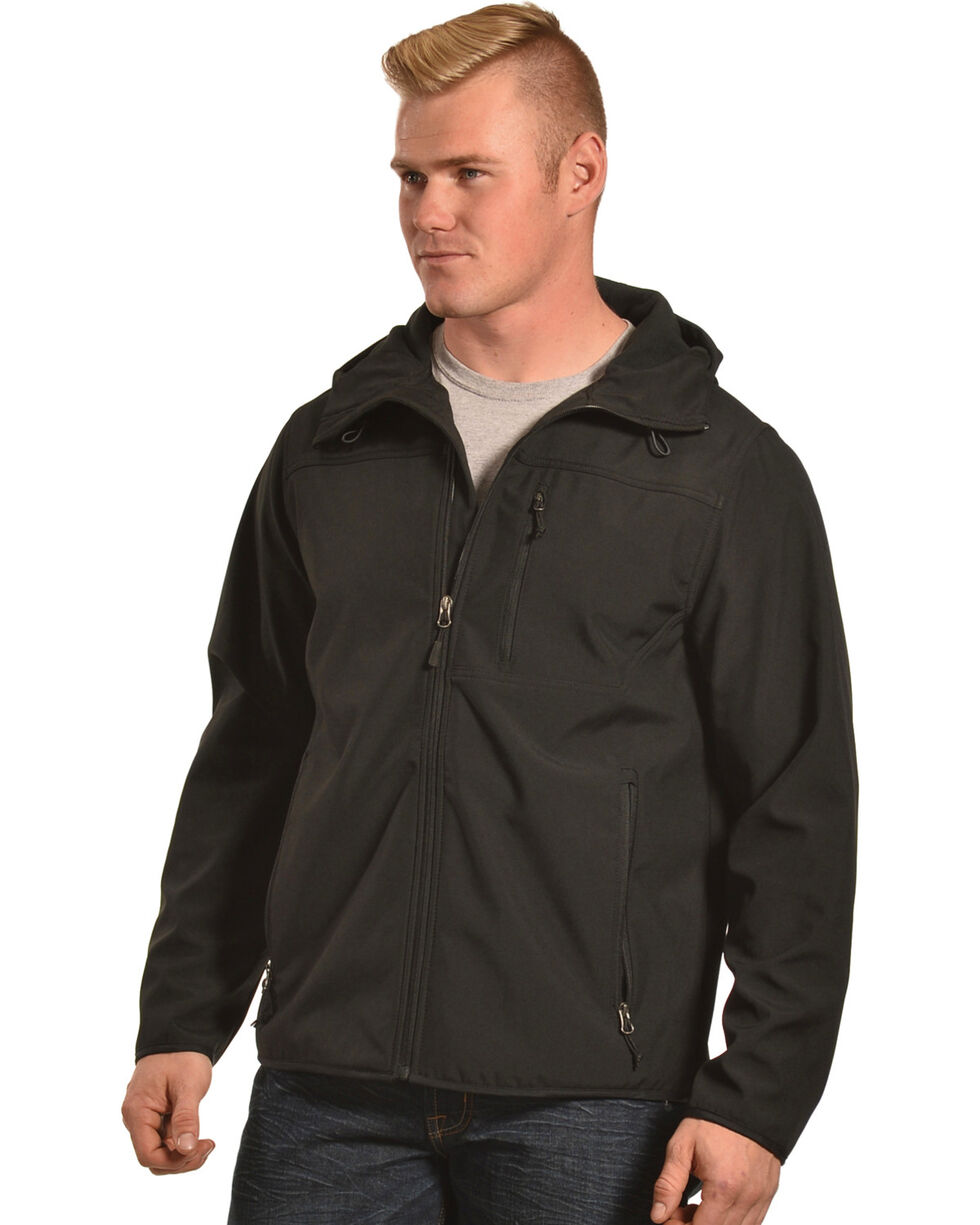 American Worker Men's Zion Soft-Shell Hooded Jacket, , hi-res