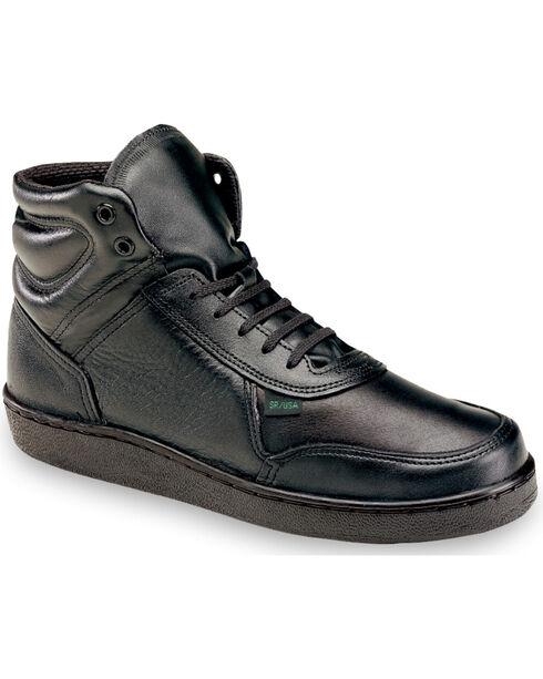 Thorogood Men's Postal Certified Code 3 Mid Cut Work Shoes , Black, hi-res