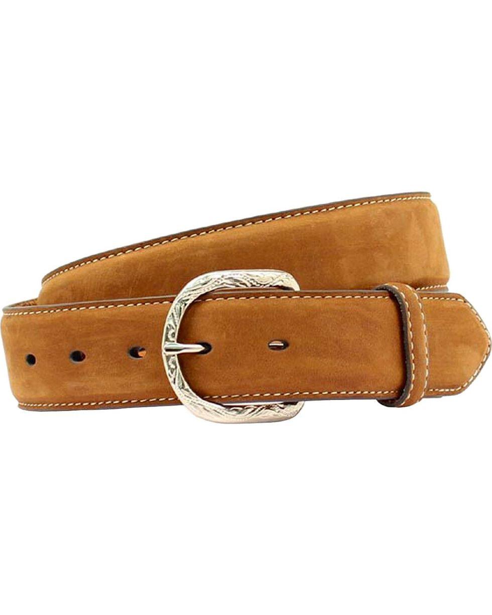 Nocona Leather Belt, Med Brown, hi-res