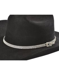 Cody James® Rhinestone Encrusted Hat Band, , hi-res