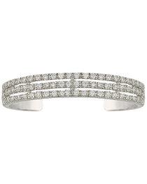 Montana Silversmiths Triple the Delight Cuff Bracelet, , hi-res