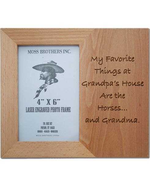 Moss Brothers My Favorite Things... Picture Frame, Natural, hi-res