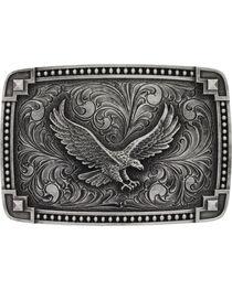 Montana Silversmiths Eagle Belt Buckle, , hi-res