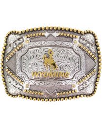 Cody James®  Men's Wyoming Belt Buckle, , hi-res