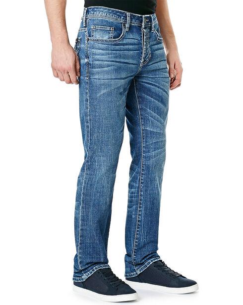 Buffalo Men's King-X Slim Bootcut Jeans, Denim, hi-res