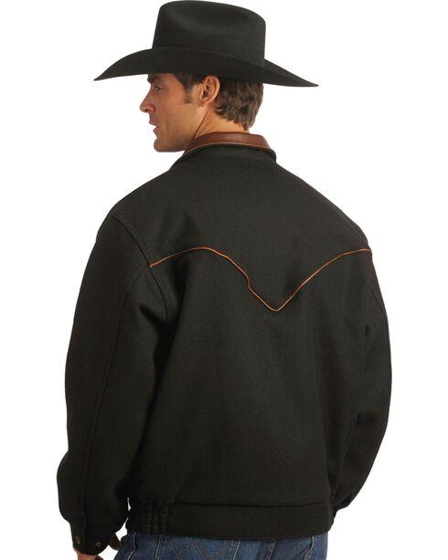 Schaefer Bighorn Wool Blend Bomber Jacket, Black, hi-res