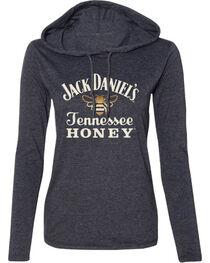 Jack Daniel's Women's Tennessee Honey Hooded Long Sleeve Shirt, , hi-res