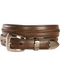 Nocona Men's Braided Leather Western Belt, , hi-res