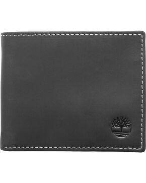 Timberland Men's Hunter Passcase Wallet, Black, hi-res