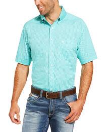 Ariat Men's Printed Short Sleeve Shirt , , hi-res