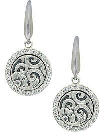 Sterling Lane Women's Daisy Vignette Earrings , , hi-res