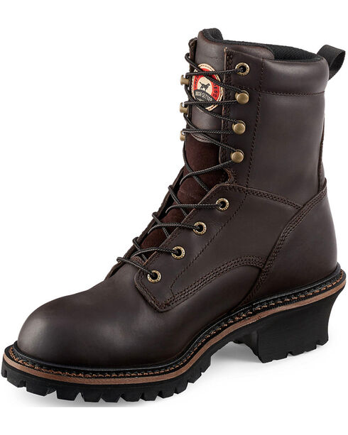 Irish Setter by Red Wing Shoes Men's Mesabi Logger Work Boots - Steel Toe , , hi-res