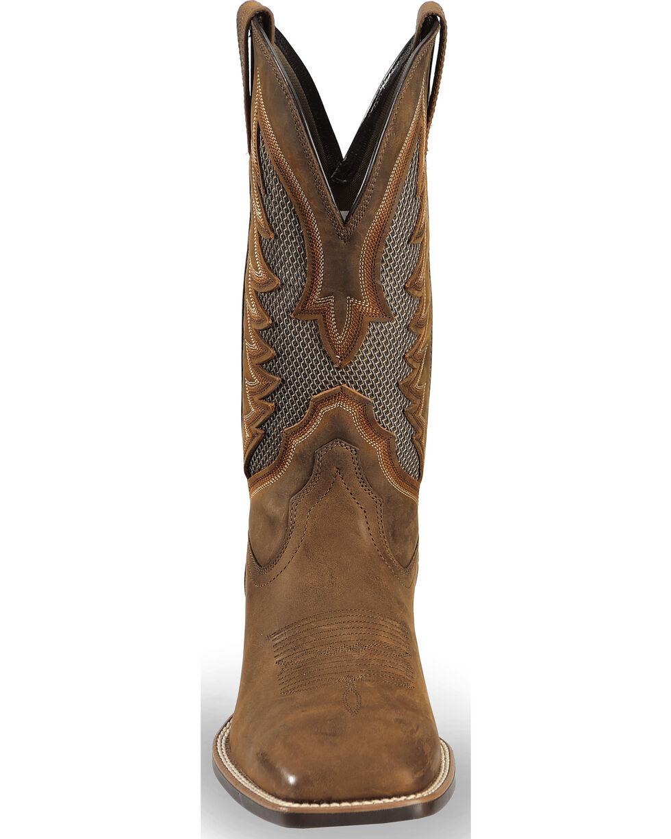 Ariat Men's VentTEK Ultra Quickdraw Cowboy Boots - Square Toe, Brown, hi-res