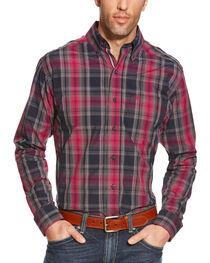 Ariat Men's Plaid Pro Series Slate Performance Shirt, , hi-res