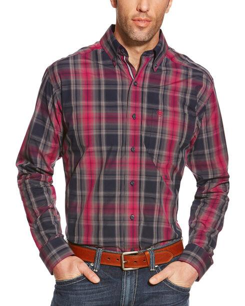 Ariat Men's Plaid Pro Series Slate Performance Shirt, Multi, hi-res