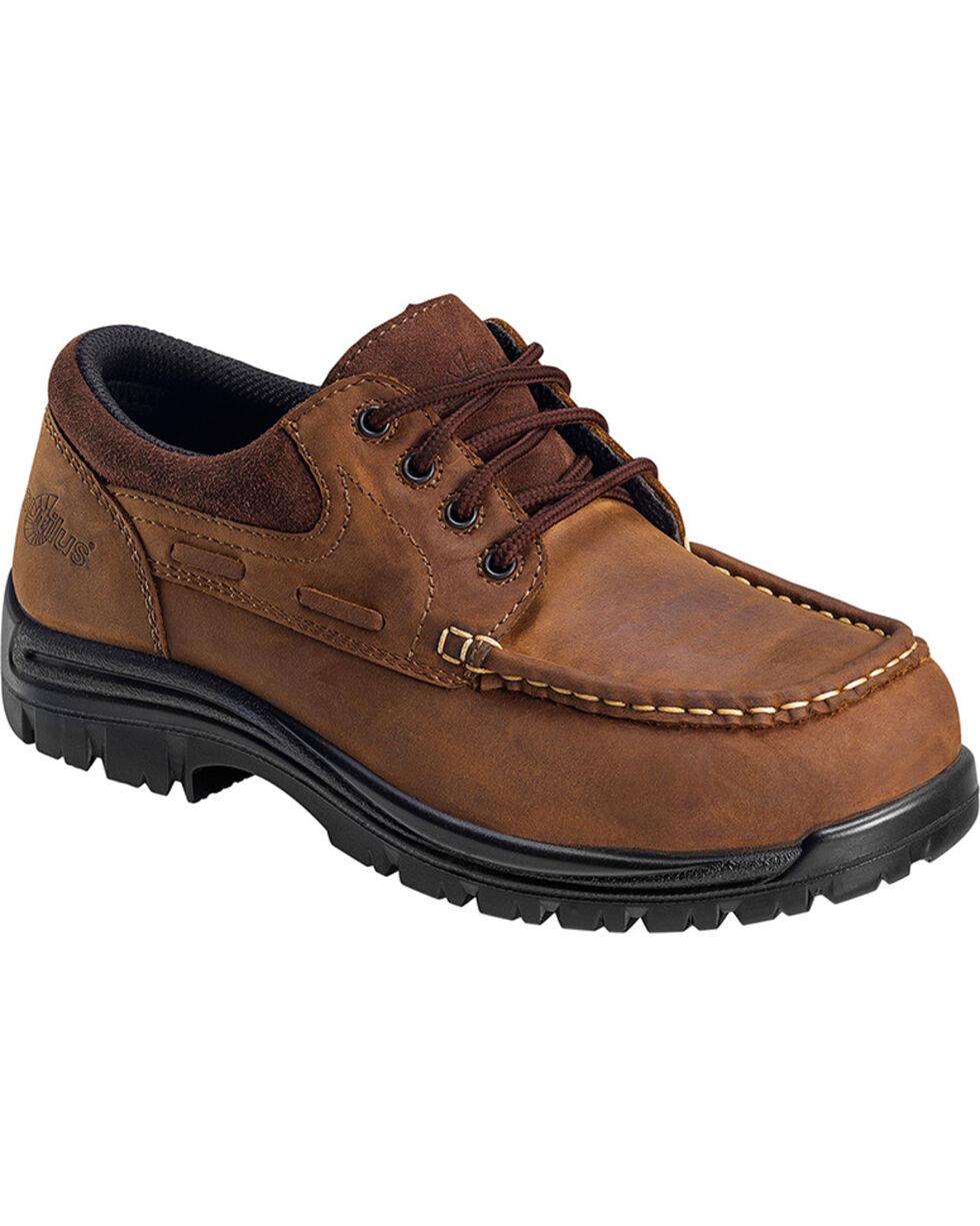 Nautilus Men's Composite Toe EH Leather Shoes, Brown, hi-res