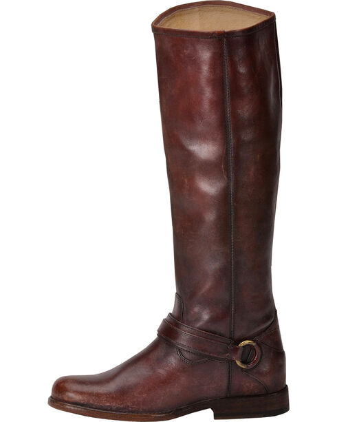 Frye Women's Phillip Ring Tall Boots, Whiskey, hi-res