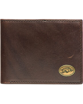 Jack Mason Men's Arkansas Legacy Traveler Wallet , Brown, hi-res