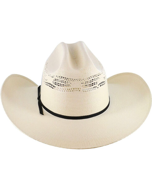 Cody James® Cattleman's Crease Straw Western Hat, Natural, hi-res