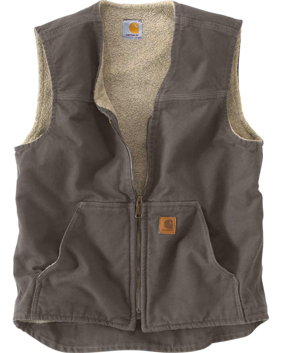 Carhartt Men's Rugged Vest, Grey, hi-res