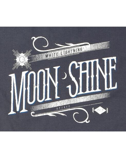 Moonshine Spirit Men's White Lightning Graphic Tee, Navy, hi-res