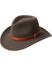 Bailey Men's Caliber Wool Felt Outback Hat, , hi-res