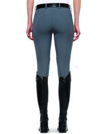 Ariat Women's Olympia Low Rise Front Zip Knee Patch Breeches, , hi-res