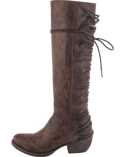 Lane Junk Gypsy Women's Idlewild Western Boots, Wine, hi-res
