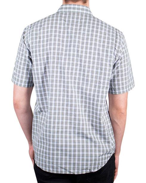 Timberland Pro Men's Plaid Short Sleeve Work Shirt , Olive, hi-res