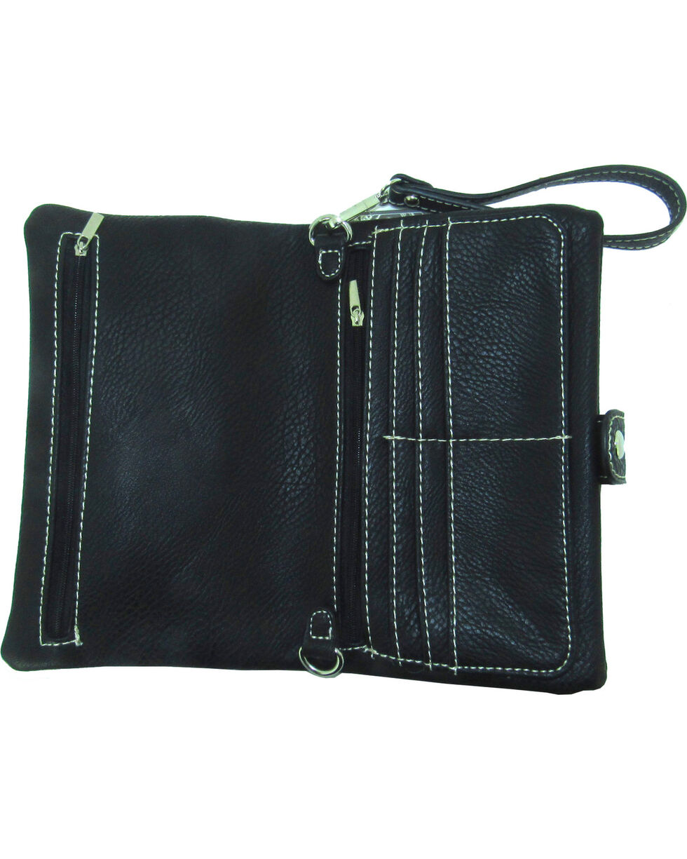 Savana Women's Patchwork Design Crossbody Bag, , hi-res