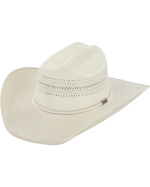 Larry Mahan 10X Ivory Cinch Straw Cowboy Hat, Ivory, hi-res
